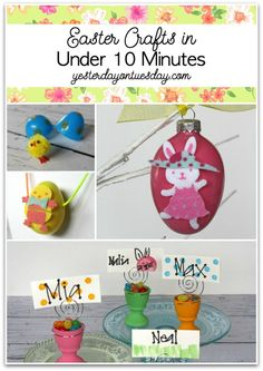 Easter Crafts you ca