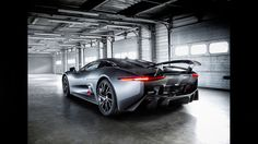 Jaguar C-X75. Love that back end