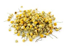 Chamomile is a fragrant herb that can add a golden color to your blond hair. Just add one cup dried chamomile to two cups of boiling water and allow to steep overnight. Strain the liquid and use it to rinse your hair after you have washed and conditioned it. Do not rinse the tea out of your hair and try to make sure it soaks your hair evenly. Do this every time you shampoo for bright, shiny hair.  If you want to lighten your hair even more, try a mixture of one cup of lemon juice to three…