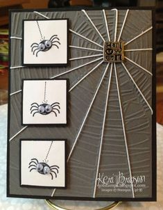 Creepy Crawly Spiders kab by stampinupconsultan - Cards and Paper Crafts at Splitcoaststampers