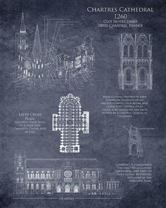 Chartres Cathedral Print featuring the digital art Chartres Cathedral by Sara Harris