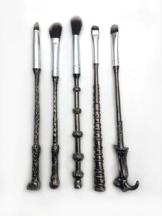 Storybook Cosmetics created Harry Potter Makeup Brushes <3
