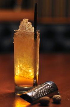 Tavern Law's Maple Sangaree: bourbon, calvados, maple syrup.   Photo: Philip Thompson