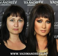 Step by Step Video: How Vadim Andreev Did This Makeup - http://fdigg123.livejournal.com/11699.html