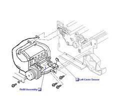 C1633-40019 HP DesignJet Overdrive Gear Cluster