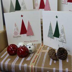 Christmas Cards Handmade Kids, Cricut Christmas Cards, Simple Christmas Cards, Christmas Card Crafts, 3d Christmas, Homemade Christmas Cards, Christmas Cards To Make, Christmas Greeting Cards, Christmas Greetings