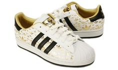 adidas superstar ii white gold trainers