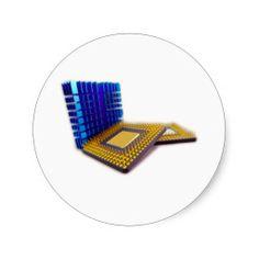 micro processor stickers