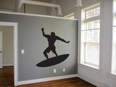 SURFER GUY WALL And Laptop Decal by KeepItMello on Etsy https://www.etsy.com/listing/270572970/surfer-guy-wall-and-laptop-decal