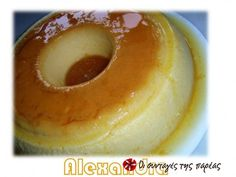 Great recipe for Crème caramel. Homemade crème caramel (flan or caramel pudding) for those who want to offer a classic dessert to their guests, made with their own hands. Recipe by NtinaKom Caramel Flan, Caramel Pudding, Caramel Recipes, Greek Sweets, Greek Desserts, Greek Recipes, Delicious Desserts, Dessert Recipes, Dessert Ideas