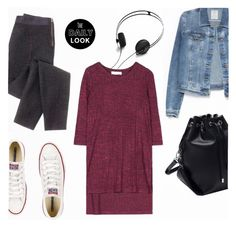 """""""Daily Look"""" by alessandra-mv ❤ liked on Polyvore featuring J.Crew, Converse, AIAIAI and Zara"""