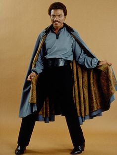 Billy Dee Williams as Lando Calrissian (Star Wars Episode V: The Empire Strikes Back)