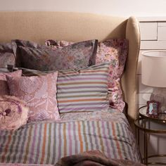 Sonia Gris Bed Linen - Bed Linen - Bedroom - United Kingdom