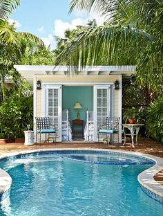 Totally perfect small backyard pools design ideas 42