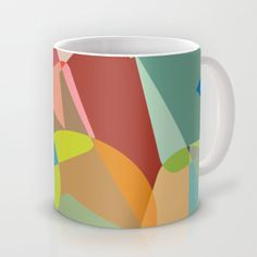 different colors Mug by aticnomar - $16.00