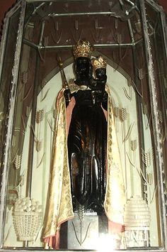 Dusseldorf, Germany, Image of Grace of the Black Mother of God of Benrath
