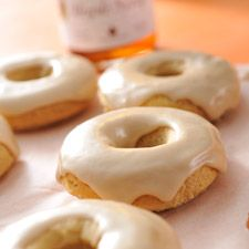 Gluten-Free Maple Bourbon Glazed Doughnuts: King Arthur Flour