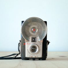 Vintage Camera Kodak Brownie Starflash 127 Film Camera Mid Century Modern Retro Classic