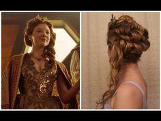 Game of Thrones Inspired Hair: Margaery Tyrell's Season 5 Wedding Hair - YouTube