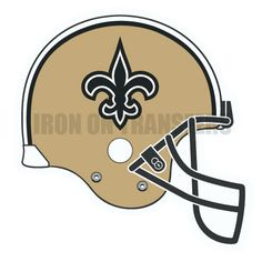 Custom or design New Orleans Saints logo Iron On Decals Stickers(Heat  Transfers) for 04d8be69a