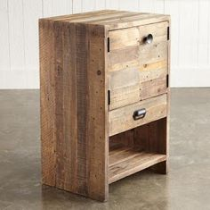 palet side table