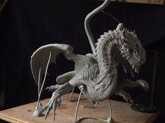 Dragon sculpt in sculpey firm by revenant-99 on deviantART
