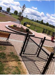 Waterfront Dog Park - Morrisburg, Ontario. Beautiful!