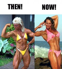 Joan Lauth 'the best biceps in the history of female bodybuilding' poised to compete again!