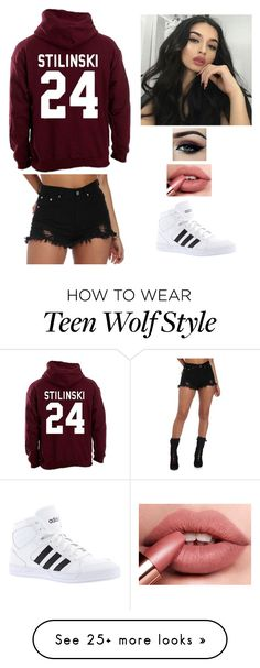 """""""Untitled #84"""" by mari129 on Polyvore featuring adidas"""