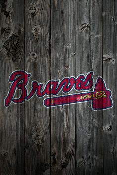 Since the iphone 4 have been announced today i thought its time to start sharing some new iPhone 4 wallpaper here :) If you are going to share your. Brave Wallpaper, Mlb Wallpaper, Bulldog Wallpaper, Atlanta Braves Baby, Baseball Wallpaper, Nhl Logos, Sports Logos, Yankees News, Dodgers Baseball