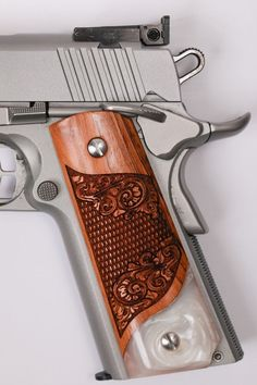 New Grip For 1911 Colt Officer Compact Kimber Clones Remington S/&W Diamond Style