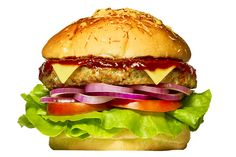 MEDEME! PORK: Pão especial, hambúrguer de pernil suíno (200g), molho barbecue, queijo mozzarella, tomate, alface e cebola roxa.