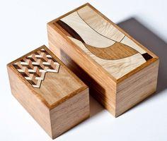 Katalin Sallai - Small Boxes - Indonesian Rosewood