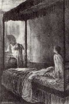 """""""But presently she took my veil from its place; she held it up, gazed at it long, and then she threw it over her own head, and turned to the mirror""""-- Jane Eyre"""