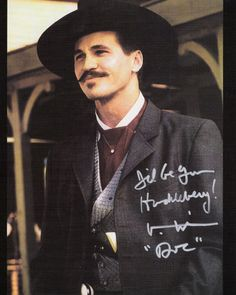 Tombstone. I'll be your huckleberry...