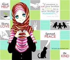 Assalaamu alaikum [Peace be to you], I wasn't planning to submit anything for valentine's day. as a Muslim who does not celebrate it, I was going to jus. Hijab Drawing, Drawing S, Cartoon Quotes, Cartoon Images, Islam Muslim, Muslim Women, Islamic Art, Islamic Quotes, Islamic Cartoon