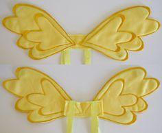 My Little Pony: Fluttershy  -  pegasus wings. $30.00, via Etsy.