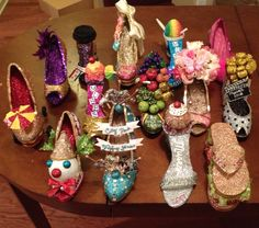 2015 Muses shoes! Not many of them this year, but I'm proud of each and every one.