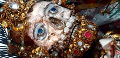 Secrets of the Catholic Church: Unbelievable Jeweled Skeletons Discovered in the Catacombs of Rome