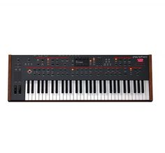 Dave Smith Instruments 12 voice polyphonic synthesizer keyboard P61 key #DaveSmithInstruments