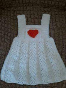 Ajurlu Kalp Süslemeli Çocuk Jile Yapımı. 3 .4 yaş