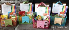 General Conference Baskets for the kids