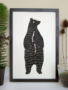 The Bear Who Was a Prince. $40.00, via Etsy.