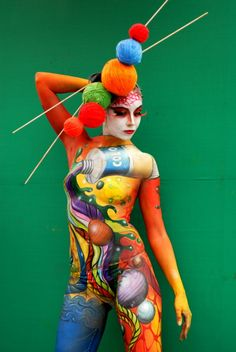 Body painting..... Amazing!