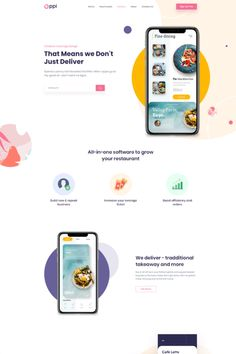 WordPress theme for building any kind of app landing page or app showcase website. It can be used to build websites of any kind of app related startup like social media, health, finance, education, business and almost all other apps. Ui Website, Website Layout, Web Layout, Design Layouts, Layout Site, Product Website, Event Website, One Page Website, Design Ideas