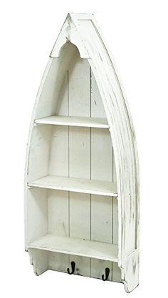Medium Nautical Boat Shaped Shelving Storage