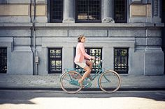Stijlgroep: Originals,  Fiets: #Cortina Soul Atlantic (3-speed), Kleding: by Janice