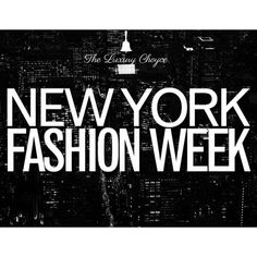 That time of year again! Stay up to date on #NYFW on TLC  #TheLuxuryChoyce