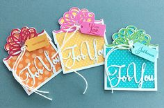 For You Tag Set by Danielle Flanders for Papertrey Ink (November 2015)