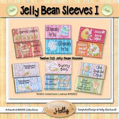 Jelly Bean Sleeves I :: Easter :: Holidays :: Aimee Asher Boutique